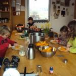 in de keuken van Hilde